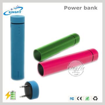 Power Bank 4000mAh Battery Portable Speaker for Promotional
