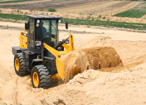 Earthmoving Wheel Loader