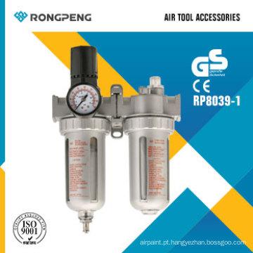 Acessórios da ferramenta de ar do filtro de ar, do regulador & do lubrificador de Rongpeng R8039-1