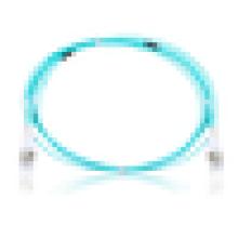 Livraison gratuite Multimode Duplex om3 câble de raccordement de fibre optique, câble de raccordement, cavalier à fibres optiques pour FTTH onu