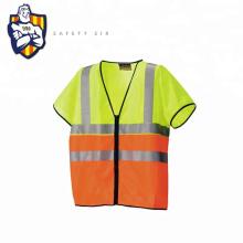 Personalized Hi Vis Short sleeve Reflective Safety Vest