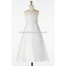 Heiße Verkauf organze-made freche Blumenmädchen Tulle Kleid Mädchen Kleider 1020