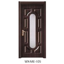 Preço baixo Excelente qualidade Porta de melamina Hotsale (WX-ME-105)