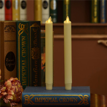 set 2 15 Inch Moving Flame Taper Candle untuk Dekorasi