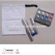 2015 plain cotton bags for makeup,cotton packing bags for small accessory, jewelry pouch cotton dust bag