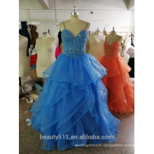 Vintage Inspired party dress Sheath / Column Spaghetti Straps Floor-length prom dress P108