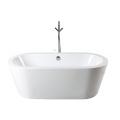 Hermosa bañera independiente de acrílico para uso en interiores