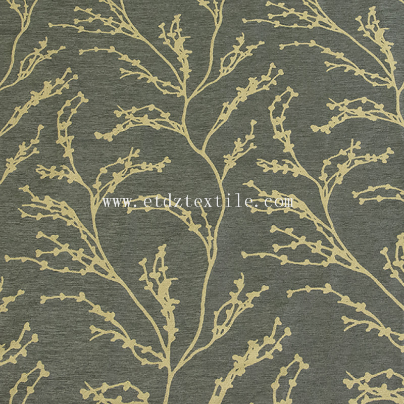 2016 Chimonanthus fragrans design of window curtain fabric QZ1539