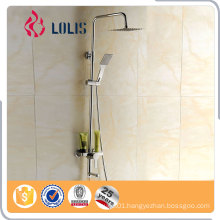 Competitive price modern exposed bath shower mixer set	, bathroom faucet,rain shower sets
