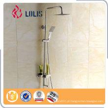 Preço competitivo conjunto moderno misturador de chuveiro de banho exposto, torneira de banheiro, conjuntos de chuva
