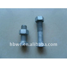 telecommunication tool, bolt and nut
