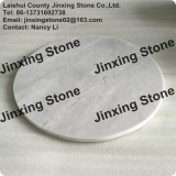 Hot Sale Round Marble Cutting Board Natural Stone Pizza Cheese Serving Tray