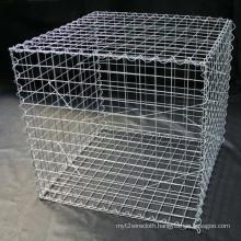 China Manufacturer 4.0mm Galvanized Gabion Cages