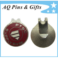 Cache en caoutchouc personnalisé en métal avec Cloisonne imitation (Golf-18)