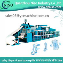 Full Servo Feminine Care Products Sanitary Towels & Pads Machine