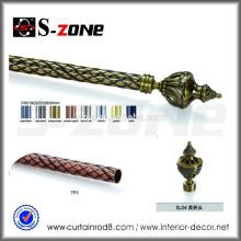 S-зона железного стержня серии длиной 5,8 м / 6 м карниз для домашнего декора
