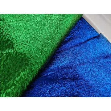 Woven Metallic Jacquard Fabric