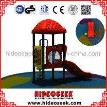 Petit équipement extérieur en plastique d'aire de jeux