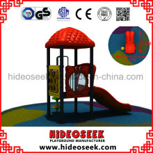 Small Set Outdoor Plastic Playground Equipment