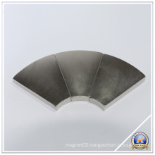 Arc Neodymium Segment Permanent Magnet with RoHS Approved