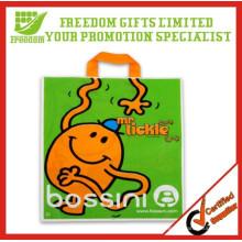 2015 logotipo de venda quente promocional impresso saco de plástico personalizado
