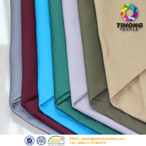 T/C blending twill color workwear fabric