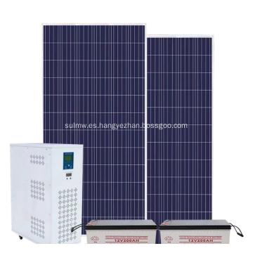 Grupo electrógeno de energía solar Generador fotovoltaico