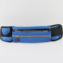 Blue Durable Elastic Waterproof Neoprene Waist Bags