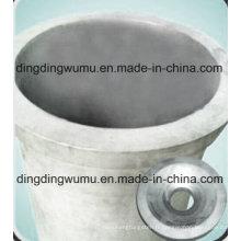 Creuset pur de tungstène pour la fusion de quartz de four à vide