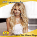 Super Wave Full Lace Wig For Fashion Women,White Human Hair Wig