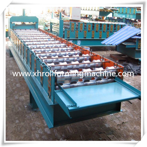 820 Glazed Roofing Step Tile Forming Machine