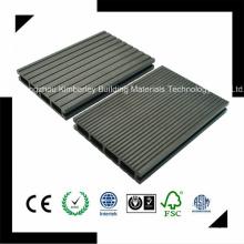 146 * 24 China fabricante de pisos baratos anticolores al aire libre WPC