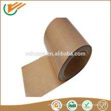 Hecho en Jiangsu PTFE tejido industrial tejido de fibra de vidrio