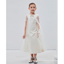 Puffy Little Girl Dress short sleeve Famous Brand Baby Clothes Wholesale Price ED646
