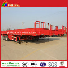 Manufacturer China Phillaya 2/3/4 Axles Side Wall Semi Trailer