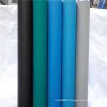 2016 vente chaude anti-statique en caoutchouc Table ou tapis tapis