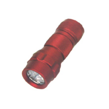 Venta caliente 14 LED Linterna de aluminio