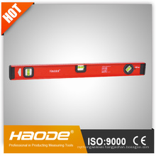 Heavy duty I-Beam spirit level / aluminium spirit level