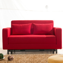 Folding Fabric Double Sleeper Lounge Bäddsoffa