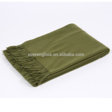 100% Merinowolle-Armee-Decke