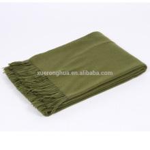 100% manta de exército de lã merino