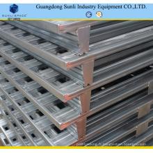 Palette en métal d'entrepôt 1100X1100