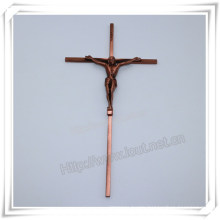 Christian Alloy Cross Religious Jesus Crucifix, Catholic Crucifix (IO-ca099)