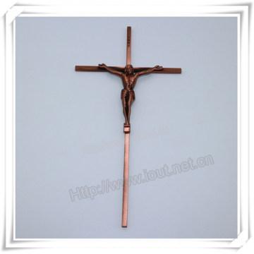 Christian Alloy Cross Religious Jesus Crucifix, Catholic Crucifix (IO-ca099)
