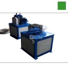 Machine de fabrication de bagues de protection intérieure et extérieure en acier à bobine