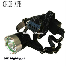 Wholesale Outdoor Camping Headlamp, T6 Q5XPE Aluminum Headlamp