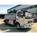 DFAC мини-цистерна для перевозки топлива, 6-7KL автоцистерна для продажи нефтепродуктов в Сенегале