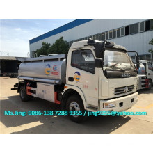 DFAC mini mobile fuel tanker, 6-7KL refueling truck oil tanker for sale in Senegal