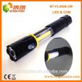 Heißer Verkauf magnetischer verlängerter 3W 250LM COB LED FLASHLIGHT 4XAAA Batterie-Art Fackel