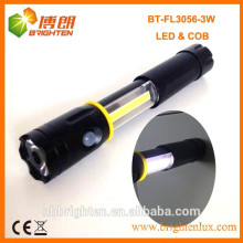 Factory supply Super bright 4XAAA Battery Type 3 in 1 3W COB led flexible torch light
